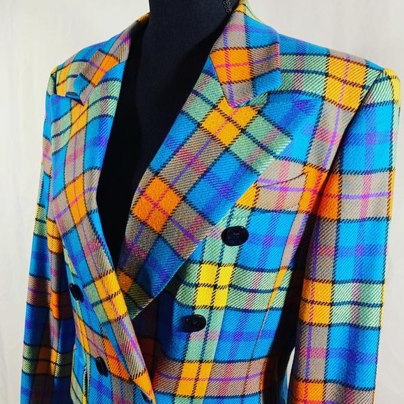 Escada Jackets & Blazers - Escada Multicolor Blazer